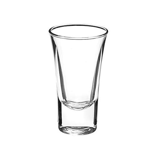 Shot Glass Set of 6, 1-Ounce Tequila Shot Glasses, Heavy Base Whiskey Shot Glass Gin, Spirits Shot Glasses for Fathers… |