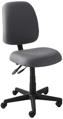 OFM Posture Series Armless Mid Back Task Chair - Stain Resistant...
