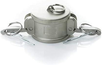 Stainless Steel 4 Camlock Female Dust Cap