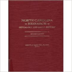 north carolina research genealogy and local history helen f leary