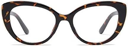 老眼鏡、老眼鏡老眼鏡女性メガネ老眼鏡Glassesglasses老眼鏡レディース Collocation (Eye Prescription : 1.00, Frame Color : Leopard C4)