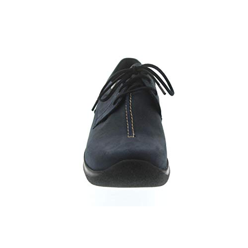 Wolky Wasco 11800 Blue Nubuck Shoes up Lace Comfort rqwxrFp