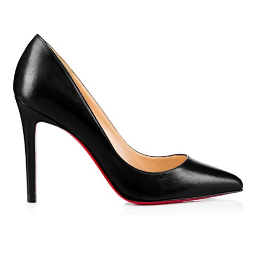 Christian Louboutin Women's 3160520Bk01 Black Leather Pumps