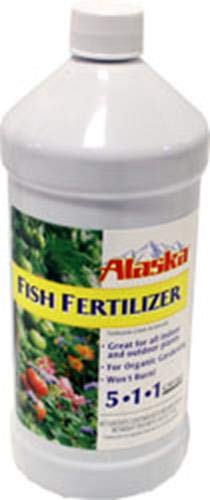 Lilly Miller 100099247 Quart Fish Fertilizer, 1 - Liquid Fish Fertilizer