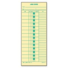 * Time Card for Cincinnati, Lathem, Simplex, Job Card, 1-Sided, 3-1/2 x