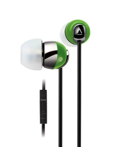 Creative HS-660I2 Kabelgebundenes In-Ear Headset (integrierte Fernbedienung) für iPhone, iPod, iPad grün