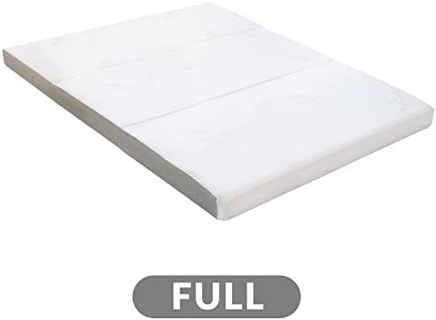 Milliard Full Tri Folding Mattress with Washable Cover (73 inches x 52 inches x 4 inches)