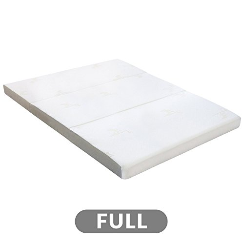 Milliard Tri Folding Mattress | Ultra Soft Washable Cover | Full {73