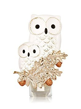 Bath and Body Works Snow White Owl Duo Mommy and Baby Wallflower Electric Fragrance Plug