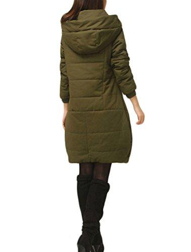 MatchLife - Abrigo - para mujer Style3-Armee Grün