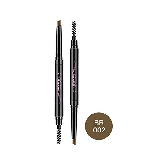 Hot Brand 2 In 1 Eyebrow Pencil Makeup Waterproof Beauty Eye Brows Enhancer Make Up 5 Colors For Blondes With Comb Maquiagem BR02