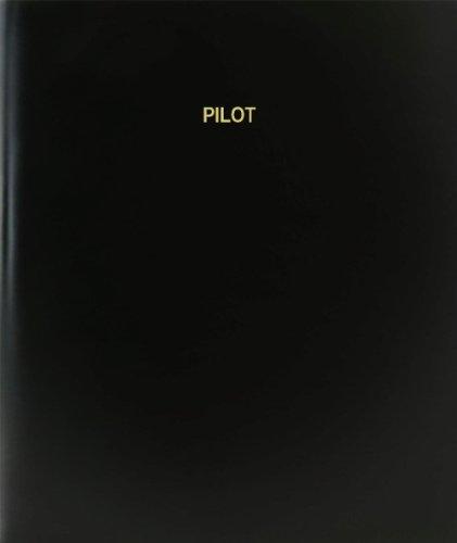 Professional Pilot Log Book (BookFactory® Pilot Log Book / Journal / Logbook - 120 Page, 8.5