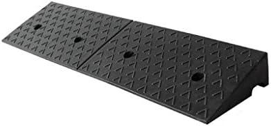 5-12CM Las rampas de Carga, rampas de Goma Negro Mat Car Wash Estacionamiento Servicio Rampas Escalera Exterior Seguridad Rampas (Size : 100 * 30 * 12CM): Amazon.es: Hogar