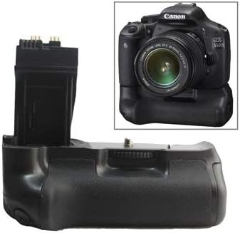 Perfect Home Convenience Durable Battery Grip for Canon EOS 550D with Two Battery Holder Durable