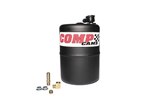 Competition Cams 5200 Vacuum Canister, Black Powder Coated Aluminum (Reserve Vacuum Canister)