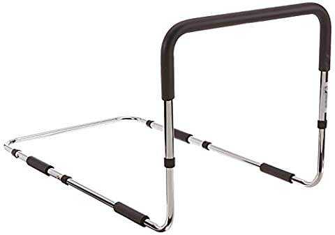 Essential Medical Supply Height Adjustable Hand Bed Rail - Half Bed Rails