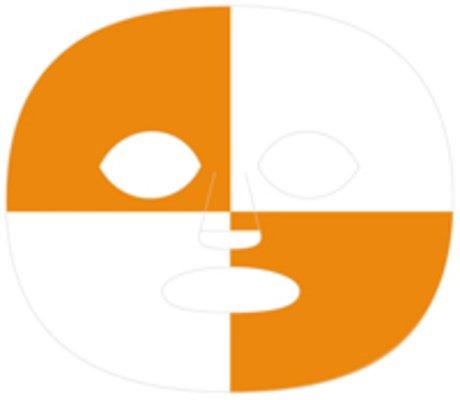 (The Gameface Company Sport Face Orange White Quadface Temporary Tattoo)
