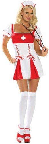 Sexy Sponge Bath Sweetie Nurse Costume - M/L ()