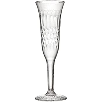 fineline settings 5 ounce flairware clearone piece champagne flute 96 pieces