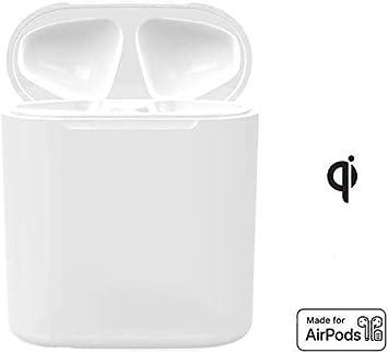 Lenture Estuche Carga Inalambrica Compatible con Airpod 1 2, Baterías de Alimentación Incorporadasse Puede Cargar por Completo 5 Veces (Sin Botón de Sincronización, Sin Airpods Incluidos): Amazon.es: Electrónica