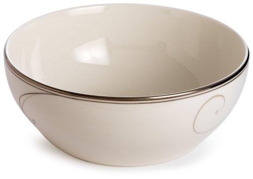 Noritake Platinum Wave Bowl - Bowls Noritake Porcelain