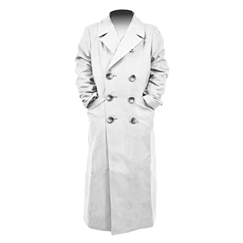 YANGGO Children's Colorful Trench Coat Costume (Large, (Kids Dr Who Costume)