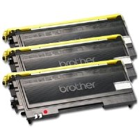 Compatible Brother TN-350 Black Toner 3-Pack, Office Central