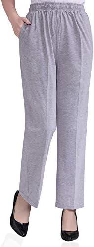 Soojun Womens Stretch Pants Elastic