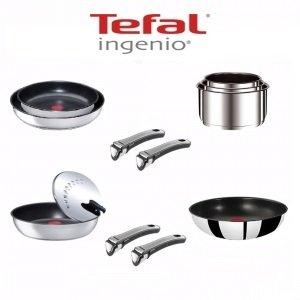 Tefal Ingenio Gourmet-Juego de 12 piezas, acero inoxidable ...