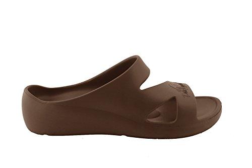 Marron Peter Femme Mules pour Legwood Cioccolato RIqFxwI7Ar