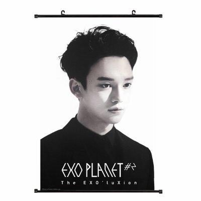 Kpop Exo All Stars Support 2nd Tour Handing Poster Of (CHEN)
