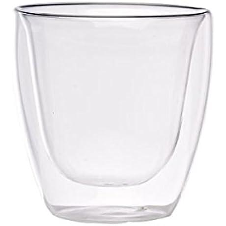 PacknWood Double Wall Short Mini Glass