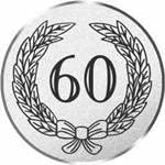 Durchmesser 50 mm Durchmesser Motiv Jubil/äum 60 S.B.J Sportland Pokal//Medaille Emblem