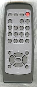 Projector X62w 3m - HITACHI R001 REMOTE CONTROL Part # HL02221