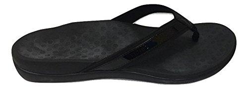 Vionic by Orthaheel Womens Tide II Sandal Black Size 9