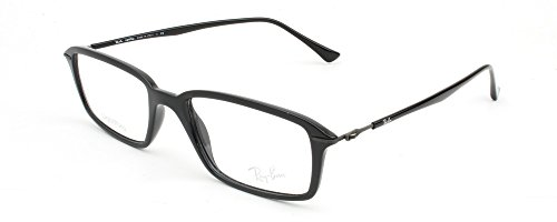 Ray Ban Optical Montures de lunettes RX7019 Shiny Black, 50mm 2000: Shiny Black