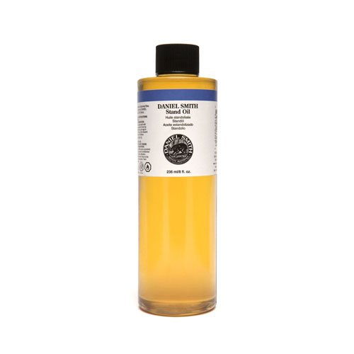 Oil Stand Linseed - Daniel Smith 284470018 Original Oil, Stand Oil, 8oz