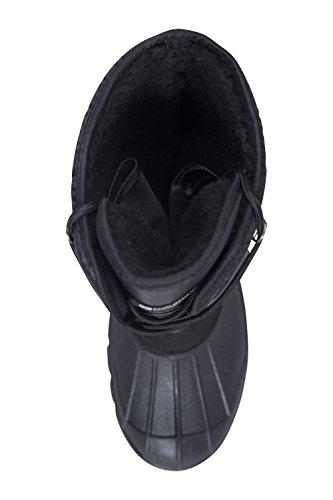 Bergslaarzen Heren Snowboots - Ademende Winterlaarzen Zwart