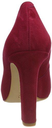 para Rojo KS Mujer 18 Patric de Unisa Zapatos Garnet Tacón S8YFP7qw