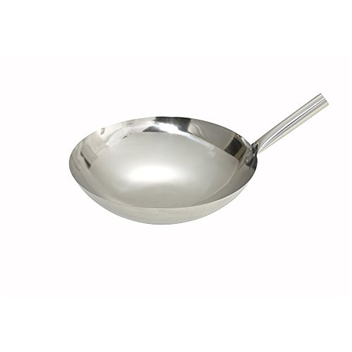 16 in stainless steel wok - 4