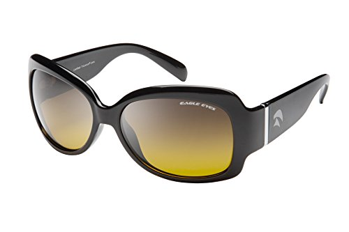 Eagle Eyes HALLEY Womens Polarized Sunglasses - Black