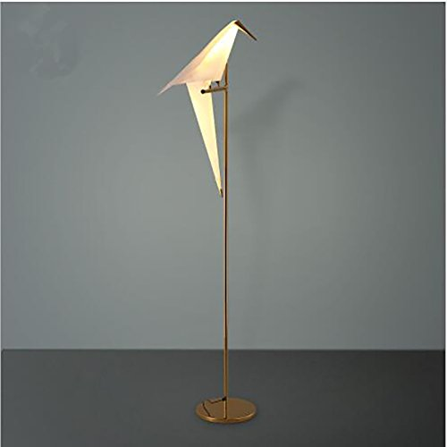 72 inch Modern Floor Lamp Golden Finish Bird Swing Floor Light Suitable for Bedroom Study Living Room Restaurant Cafe Shop(A Bird Floor lamp) by Razaban