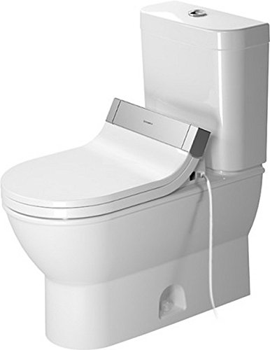 - Duravit 2126010000 Two-Piece toilet Darling New white siphon jet, elongated, HET, Large,