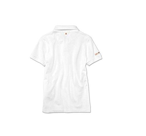 Original BMW Damen Polo Shirt Weiß Poloshirt BMW Kollektion 2018 2020 -  Größe L  Amazon.de  Auto 54cefdfc0b
