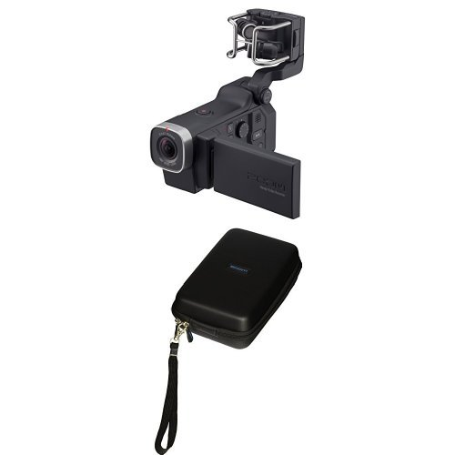 Zoom Q8 Handy Video Recorder with Zoom SCQ-8 Case for Zoom Q8