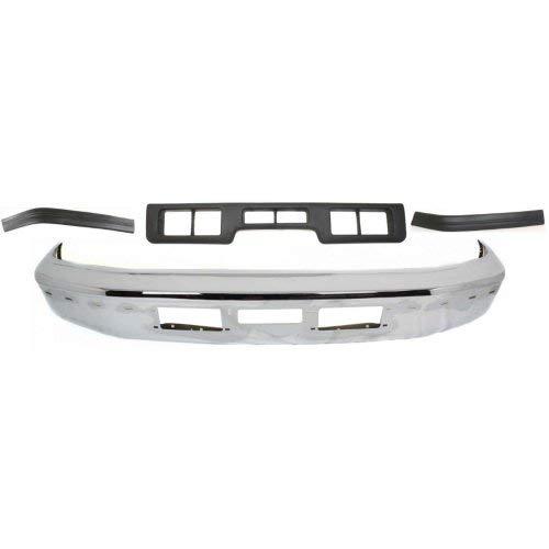 - Evan-Fischer EVA6451130134054 Front Bumper Kit for 92 Ford Bronco XLT