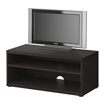 Ikea Mosjo Tv Bank Schwarz Braun 90x40x38 Cm Amazonde Küche