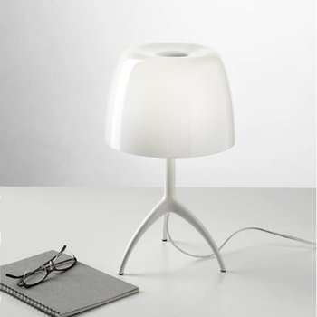 lumiere by foscarini special edition white table lamp amazon com
