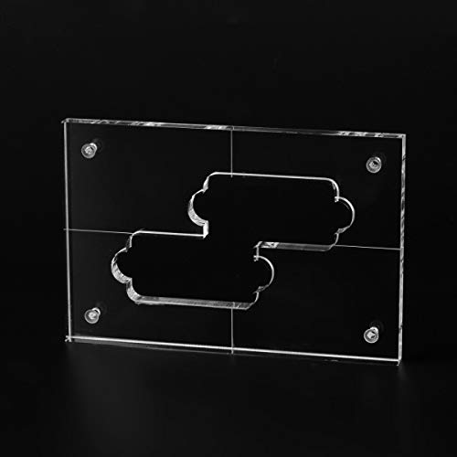 Musiclily Pro CNC Accurate Acrylic Pickup Routing Templates for Standard Precision Bass