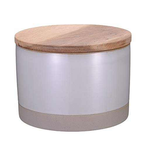 Danxia Canister Food Storage Jar Ceramic Airtight Container, 28 OZ